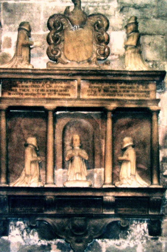 caldwell tomb in rolleston 1600