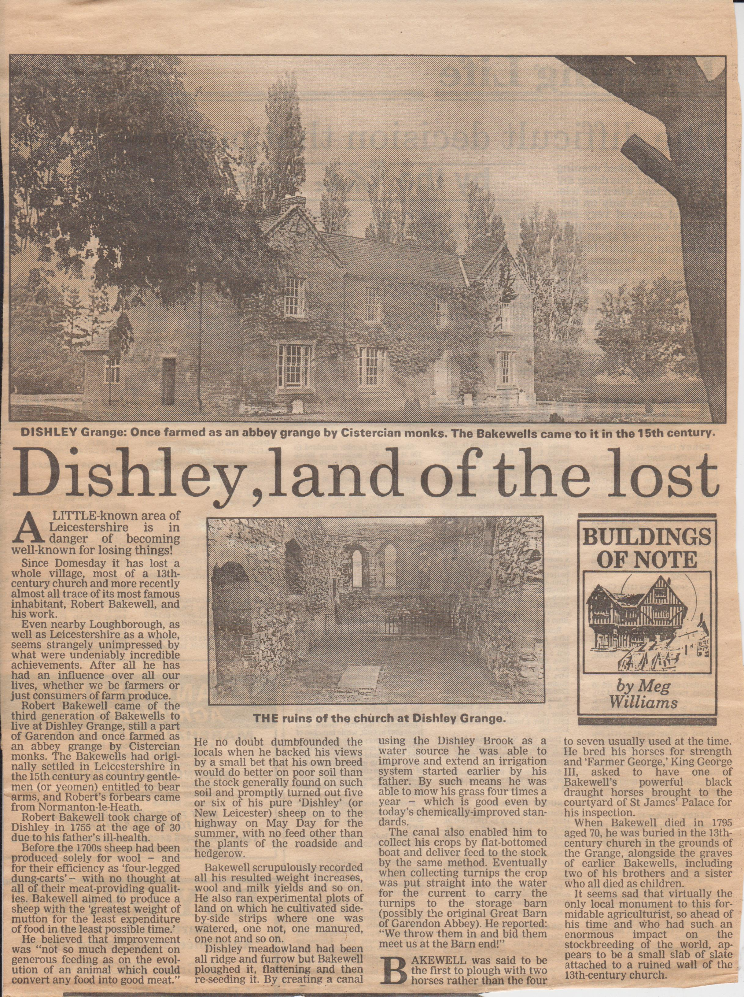 dishley land of the lost